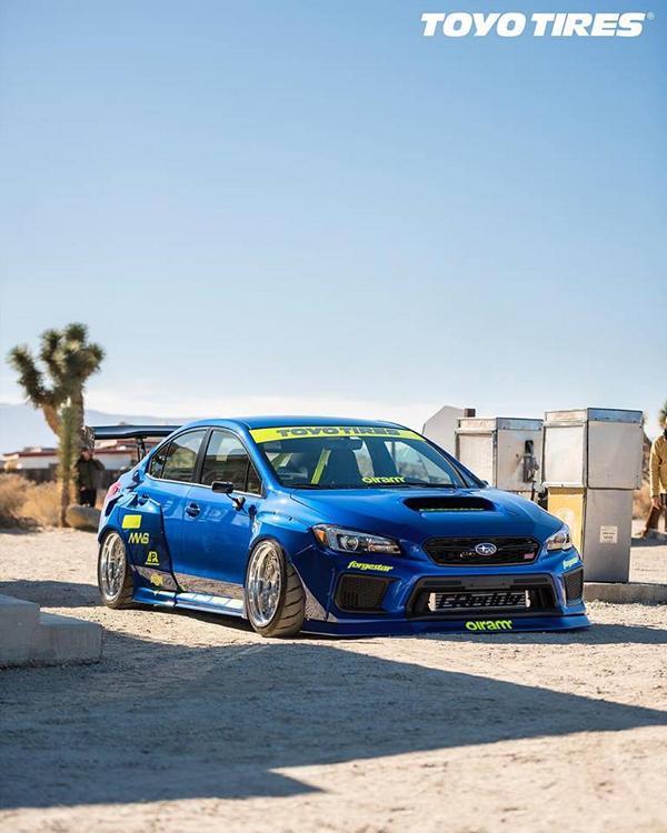 FormaCar: Subaru WRX Sti puts on an extreme-looking body kit