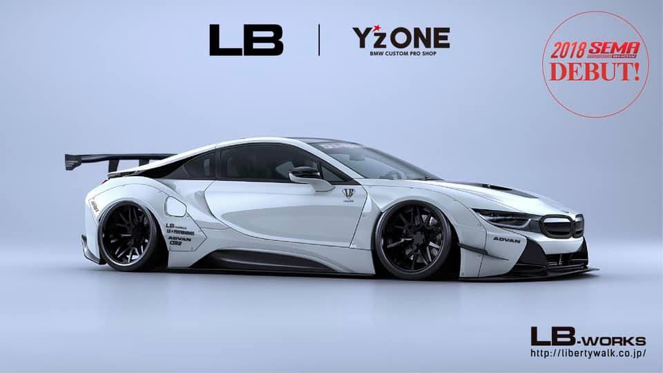 Formacar Japanese Tuner Unveils New Bmw I8 Body Kit