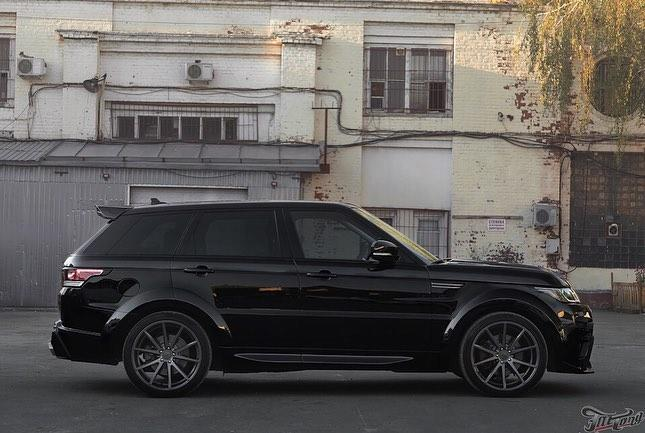 Formacar Russian Tuner Renegade Unveils New Range Rover Sport Body Kit