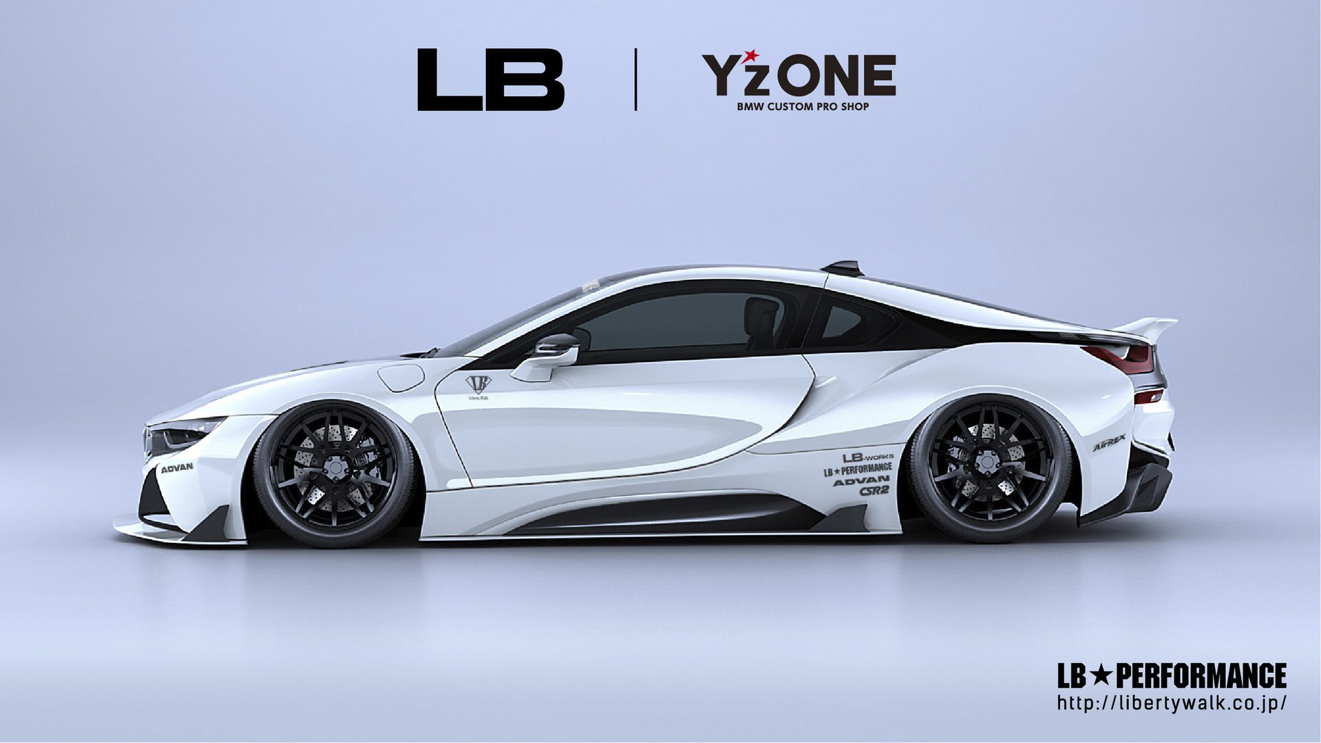 Formacar Liberty Walk Releases Several Bmw I8 Body Kits