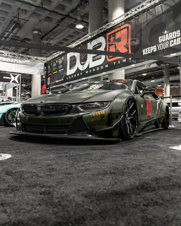 Formacar Bmw I8 Tries On A Wide Body Kit From Liberty Walk