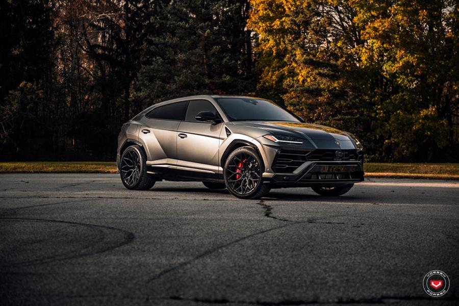 Formacar For Those Tired Of The Stock Lambo Urus Wheels Vossen Now