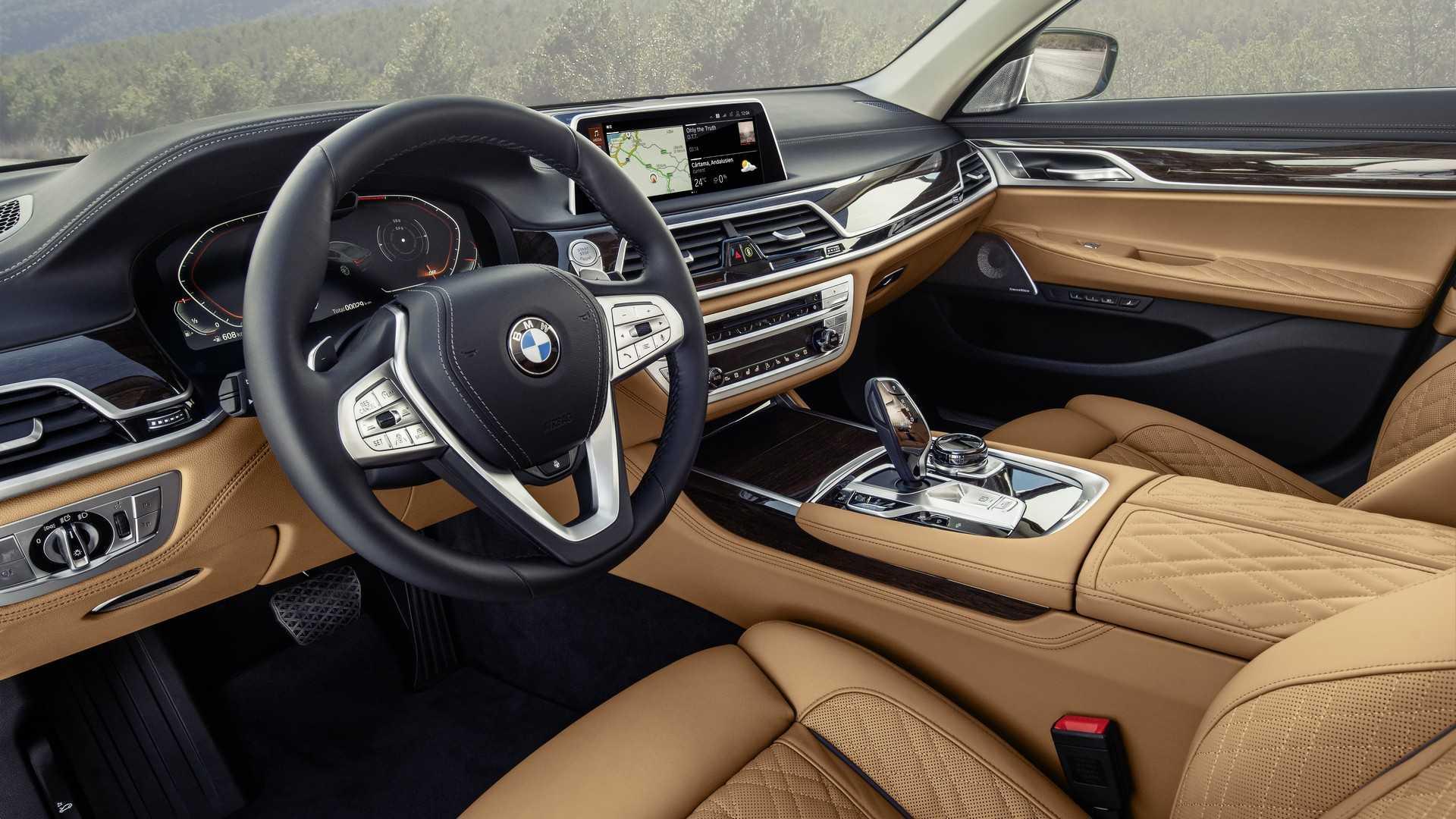 BMW 5 series салон