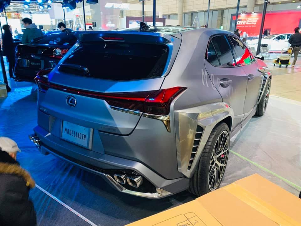 FormaCar: Modellista Unveils New Lexus UX Body Kit With
