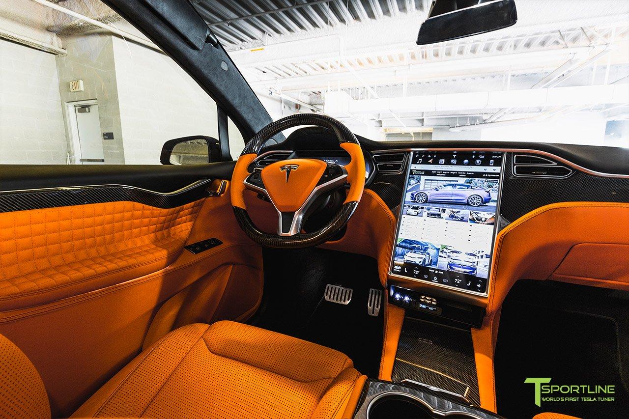 FormaCar: Tesla Model X gets a wide body kit from T Sportline