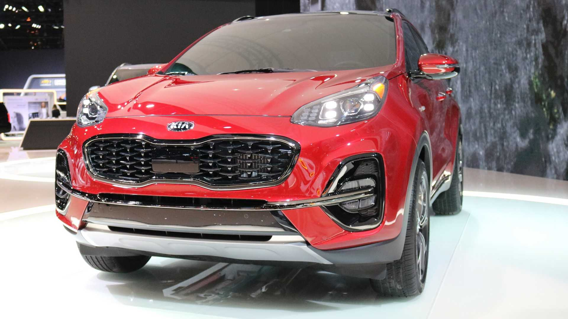 Formacar Kia Sportage Facelift Brings Additional Safety