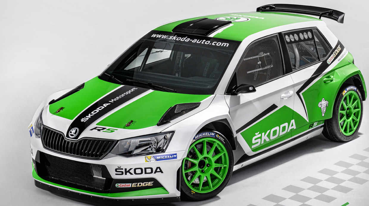 Formacar New Looks New Strengths Skoda Fabia R5 Facelift Goes Live