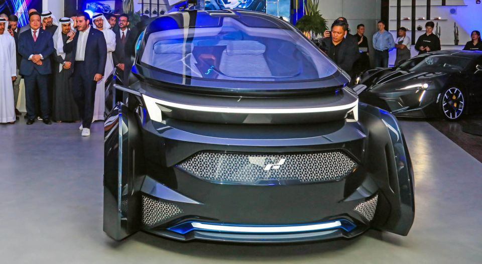 FormaCar: MUSE is a self-driving car from the creator of Lykan