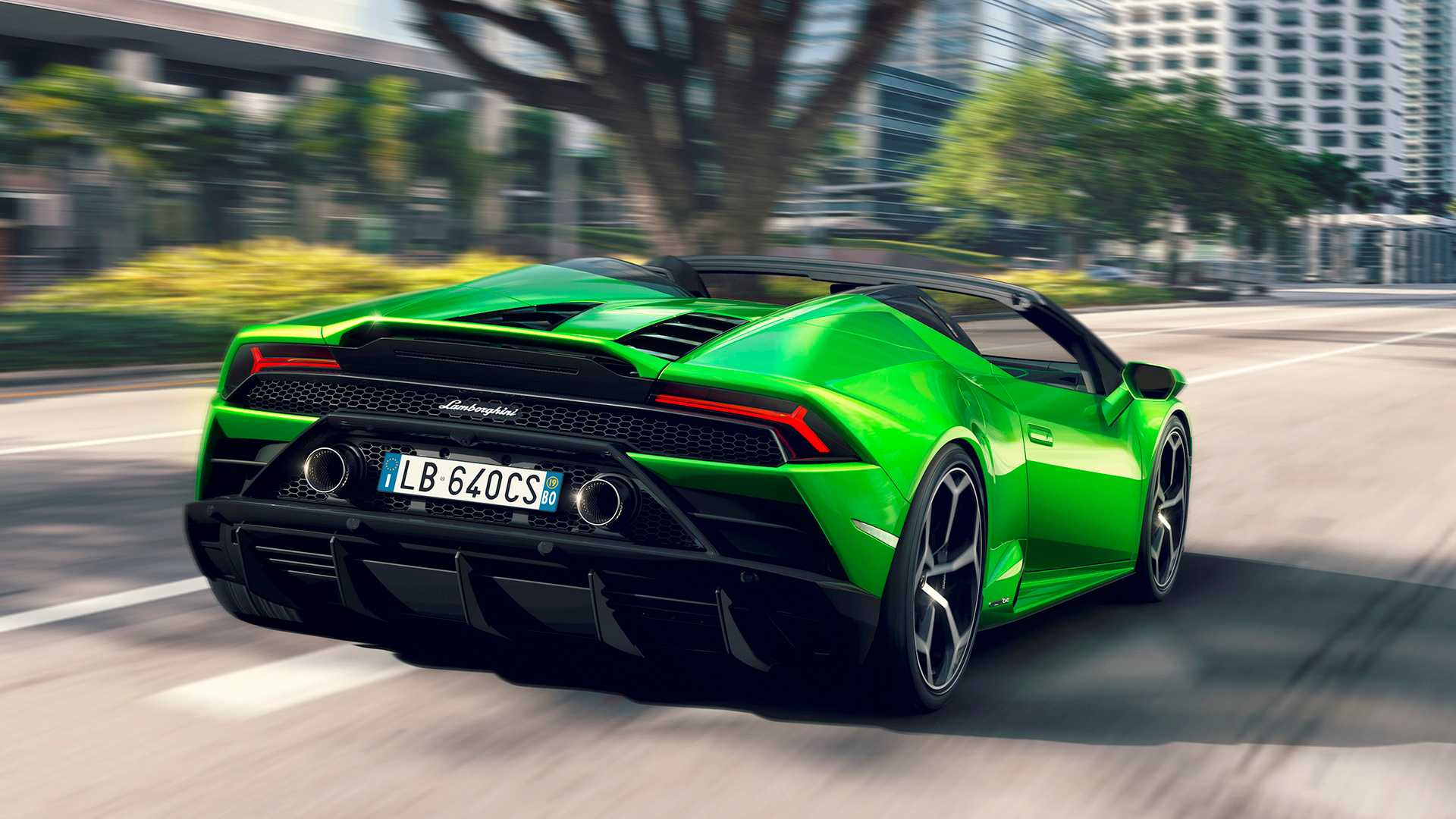 Formacar Lamborghini Huracan Evo Loses Roof In Its New Spyder Version