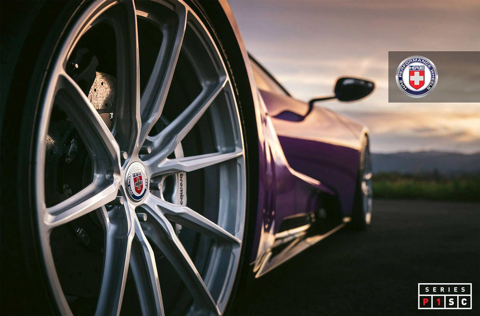 FormaCar: HRE puts new wheels on an eggplant-tinted Ford GT