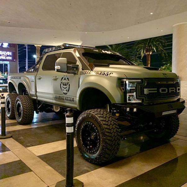 FormaCar: DJ Marshmello overhauls his Ford F550 6×6 Super Duty