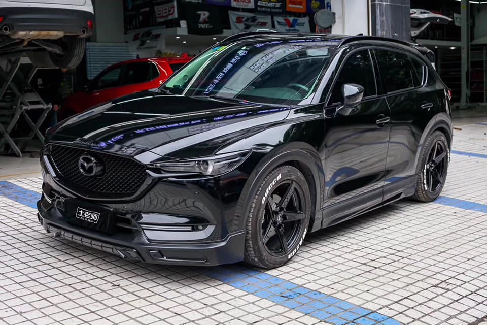 formacar damd launches new mazda cx 5 option pack. Black Bedroom Furniture Sets. Home Design Ideas