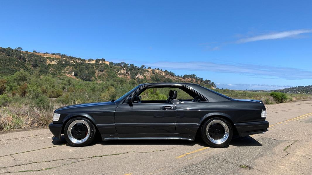 FormaCar: This Mercedes 560 SEC AMG 6 0 Widebody costs