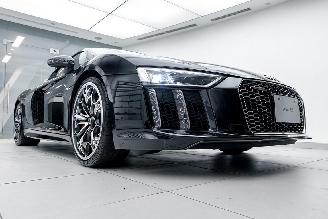 Formacar This Final Fantasy Xv Inspired Audi R8 V10 Sells For A Ludicrous 2 100 000
