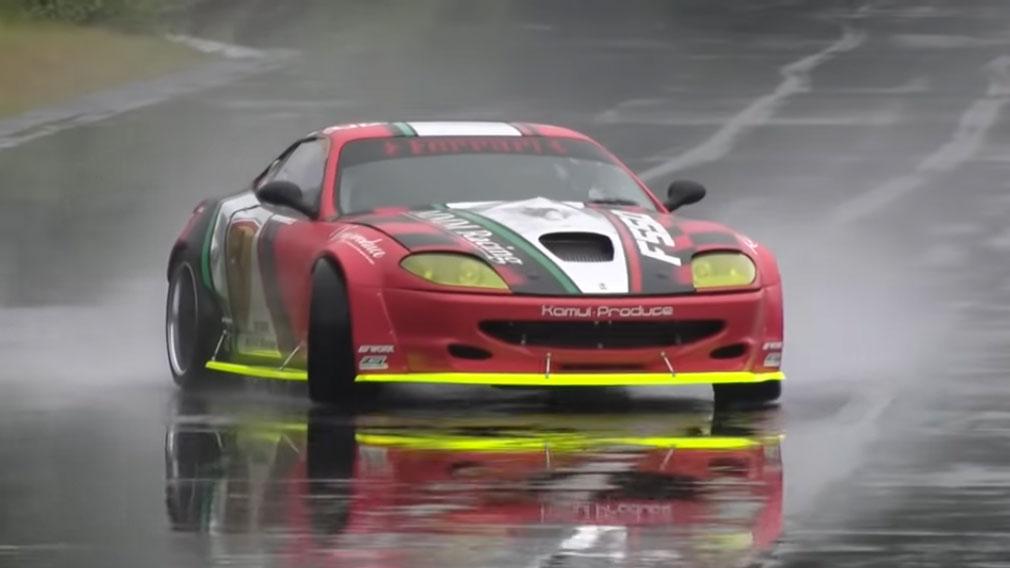 Formacar Drift Ready Ferrari 550 Maranello Packs A 1 200 Hp Japanese Engine
