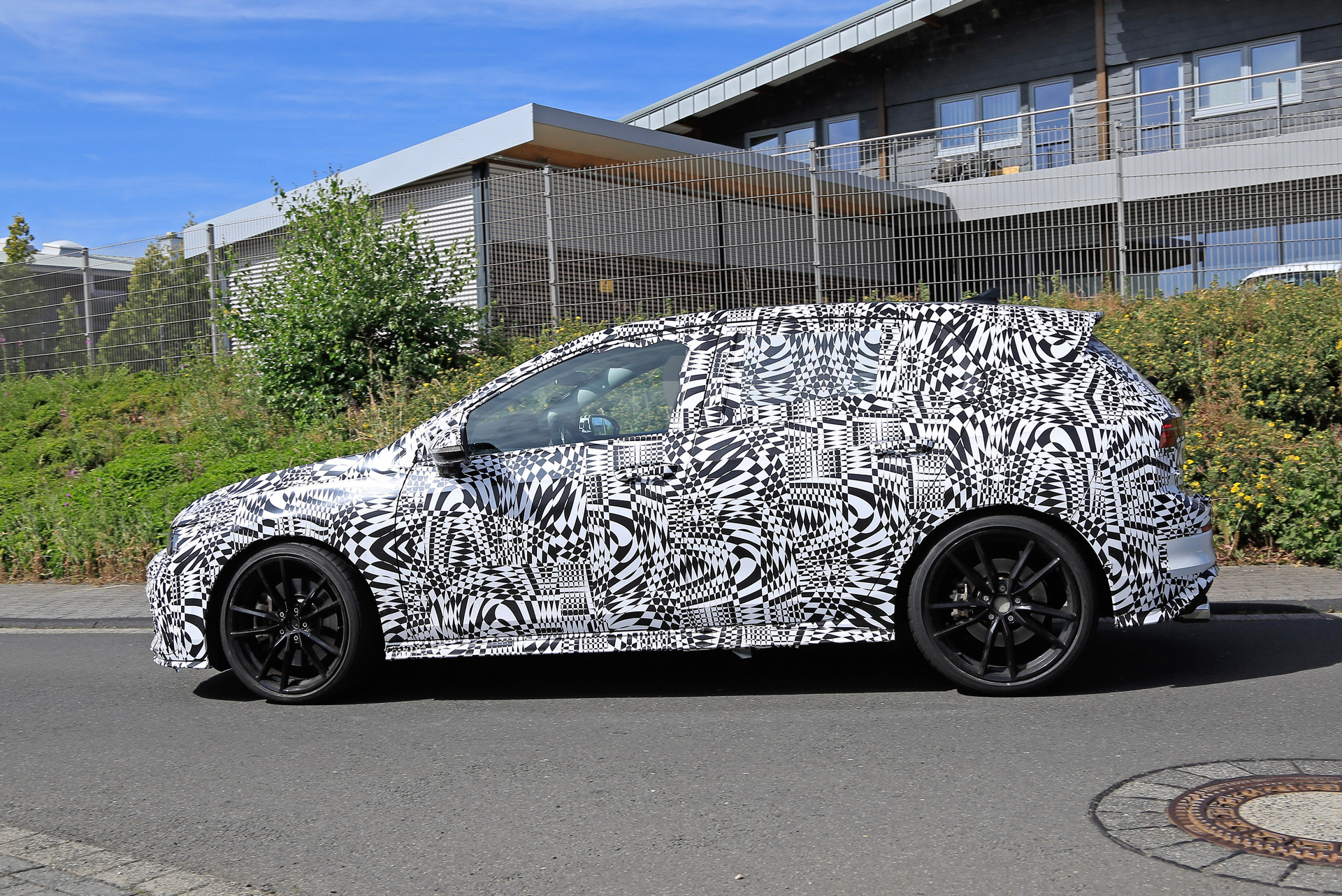 Formacar First Spy Shots Reveal The Exterior Of The Vw Golf 8 Gti