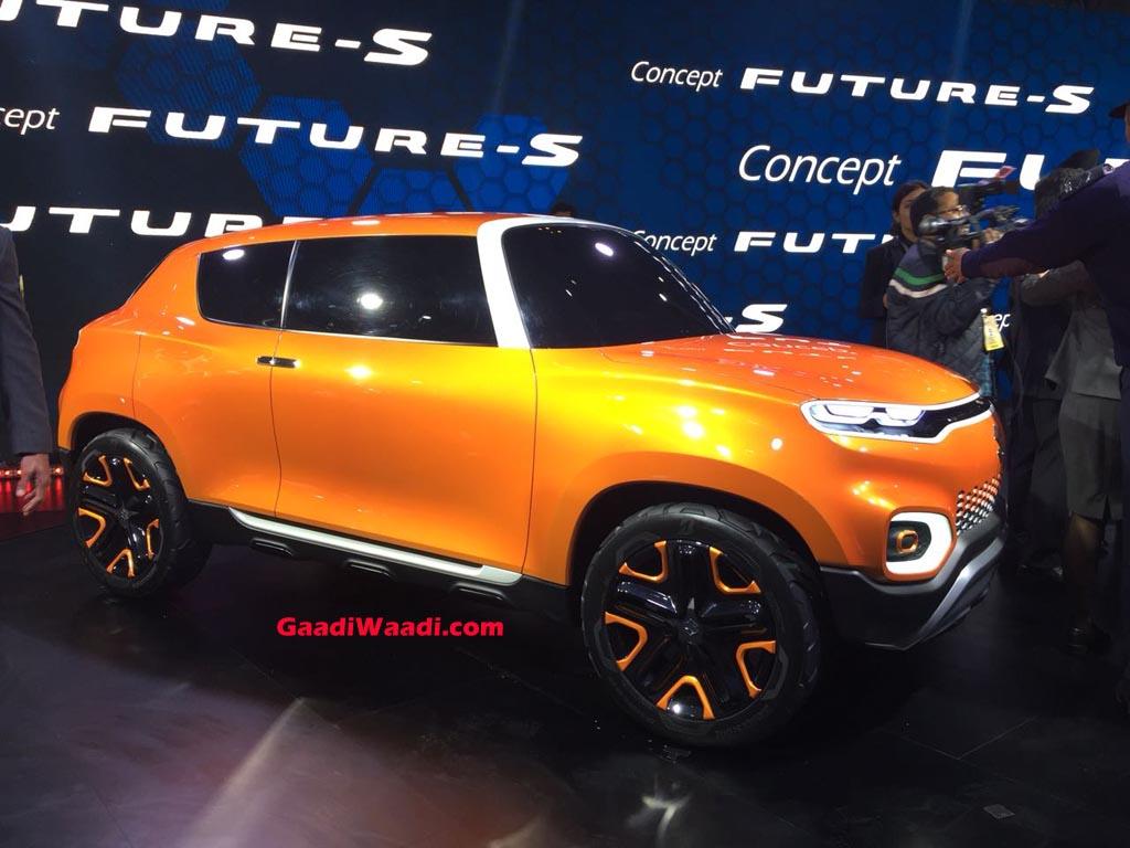 FormaCar: WIP: Maruti Suzuki's new compact crossover SUV