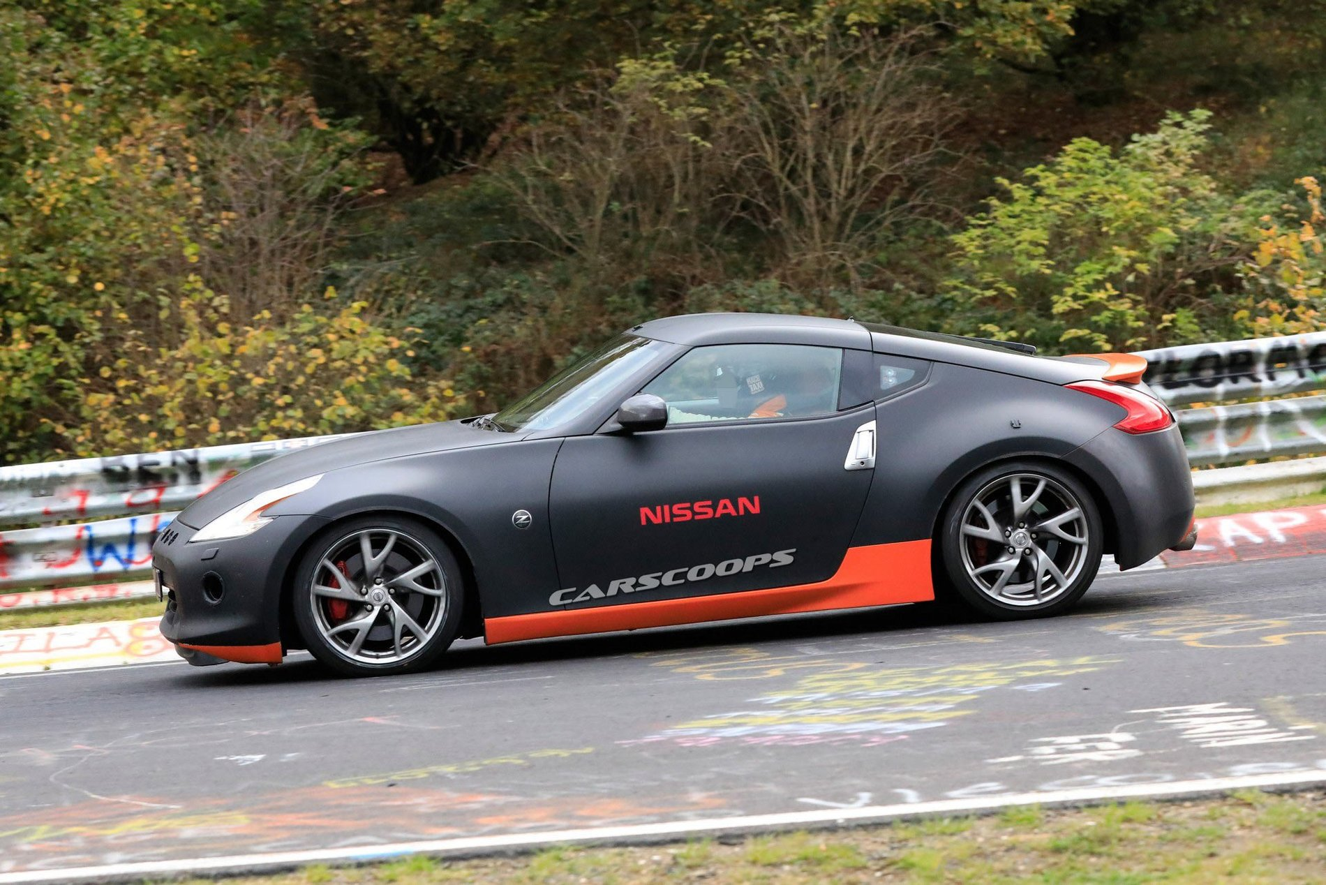 FormaCar: Nissan 400Z first test mule spotted at the 'Ring