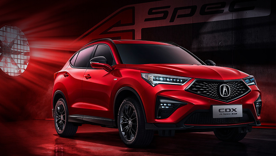 Formacar Acura Cdx Gets A Sported Up A Spec Version In China