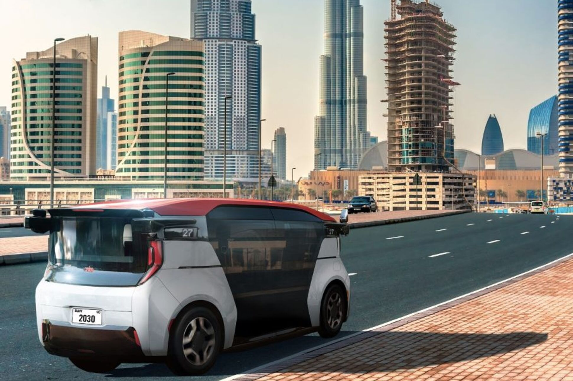 FormaCar: Dubai taxi service invests in Cruise Origin self ...