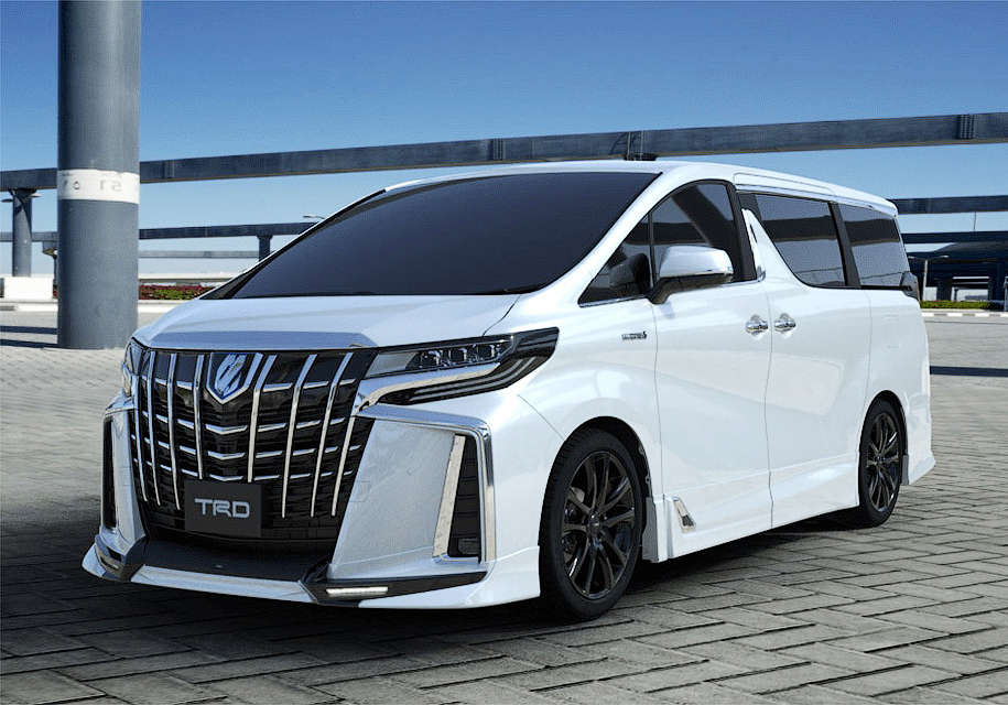 Formacar Trd Releases Tuning Kits For Toyota Alphard And