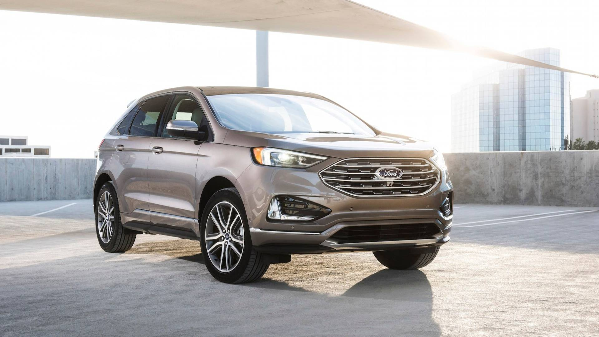 Formacar The New 2019 Ford Edge Titanium Elite Combines Luxury And