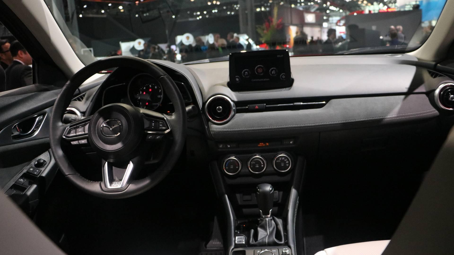 Formacar Der Neugestaltete Mazda Cx 3 Feiert Sein Ny Debut