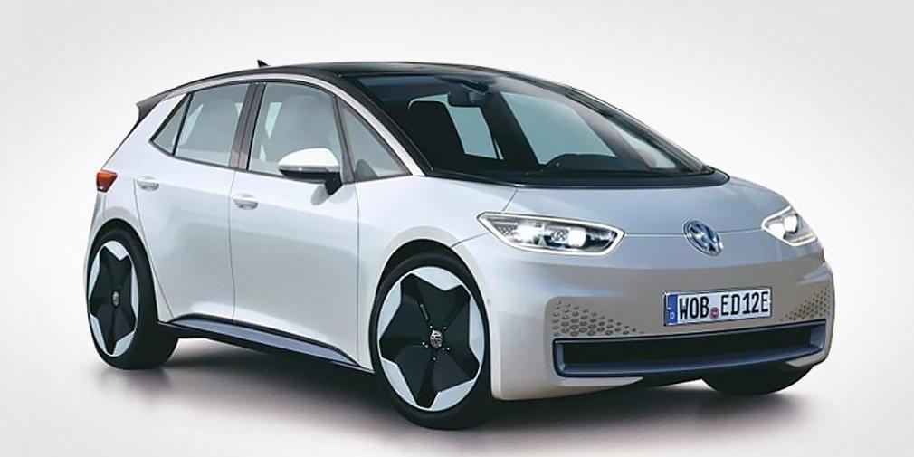 formacar volkswagen neo is an all electric hatchback. Black Bedroom Furniture Sets. Home Design Ideas