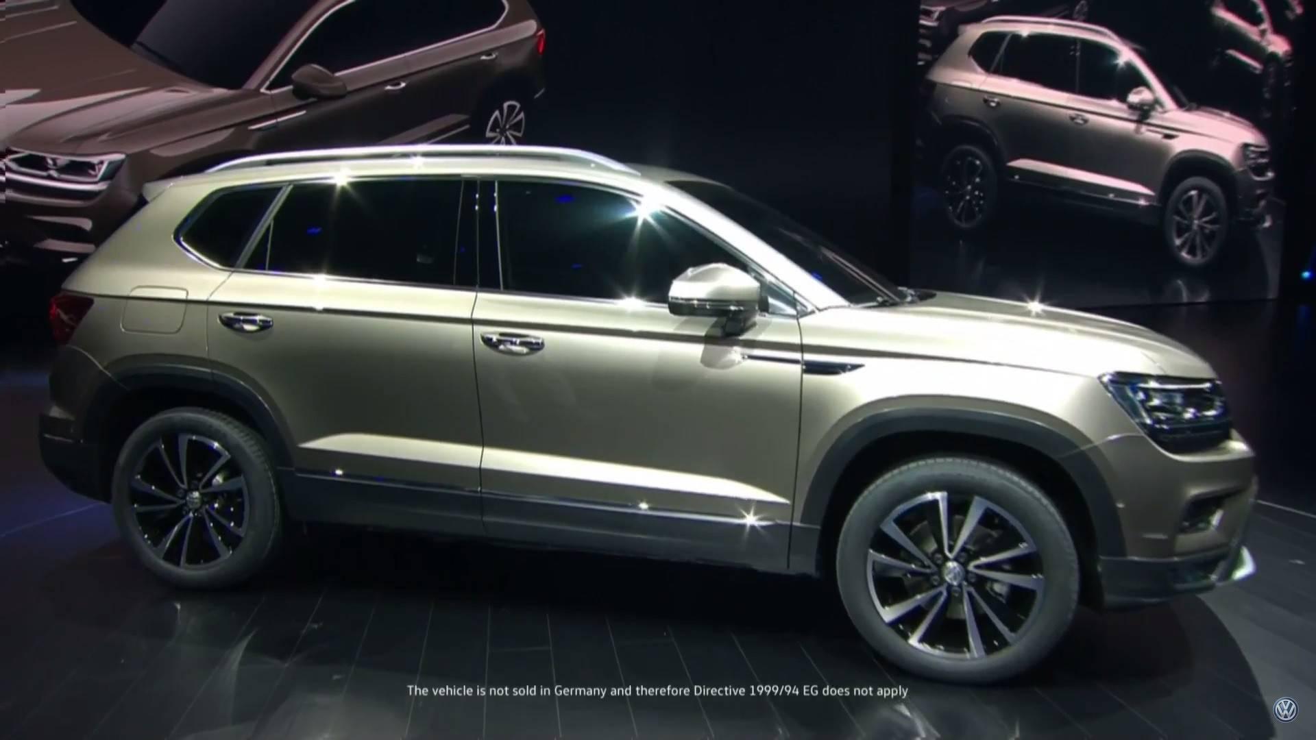 Volkswagen Taigo SUV spotted testing sans camouflage