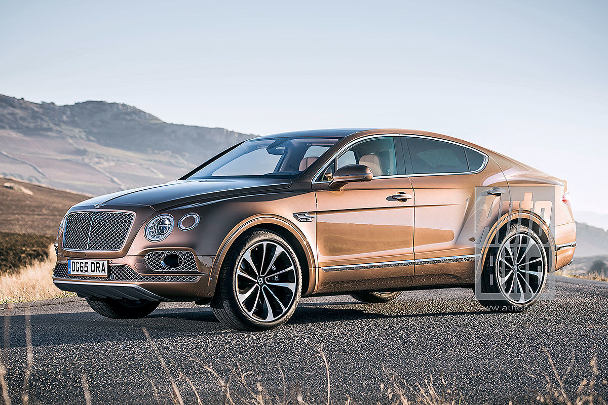 Formacar Bentley Bentayga Family To Get New Coupe Suv Member In 2019