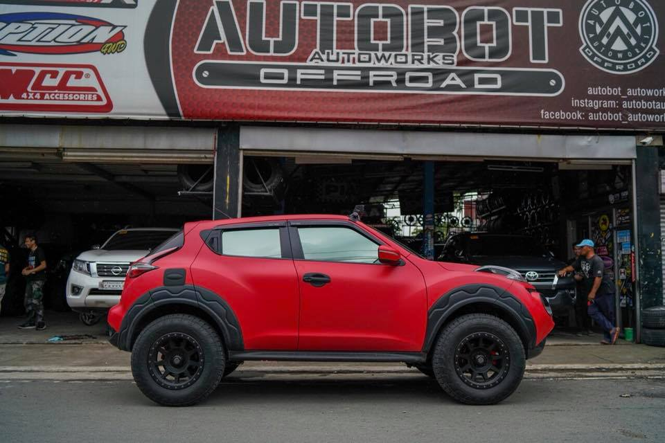 Nissan Juke Off Road >> Formacar Nissan Juke Looks Like Real Suv With These Wheels